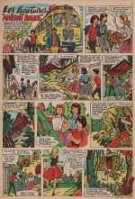 """« Les Locataires """"Maison Rouge"""" » dans Âmes vaillantes n° 41 (12/10/1961)."""