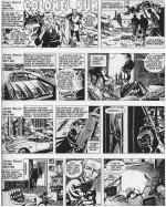 """Les premiers strips de """"Colonel Sun"""", en décembre 1969."""