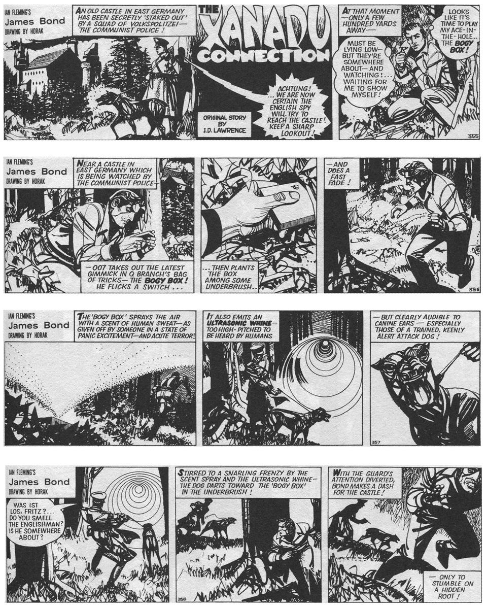 """""""The Xanadu Connection"""" (1978) : course-poursuite nocturne en Allemagne de l'Est..."""