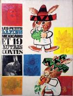 Illustration de couverture pour « Les Petits Lapins mexicains et 19 autres contes » ; Librairie Vaillant 1964.de Jean Ollivier