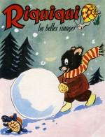 Illustration de couverture par René Moreu pour Riquiqui.
