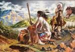Ayant assisté Magnus sur son fameux Tex speciale chez Bonelli — travail de plusieurs années —, Romanini a aussi produit des peintures de western pour le plaisir, à la fin de sa vie.