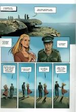 «Gravé dans le sable» par Cédric Fernandez et Jérôme Derache, d'après Michel Bussi.