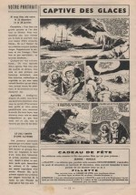 « Captive des glaces » Fillette n° 492 (22/12/1955).