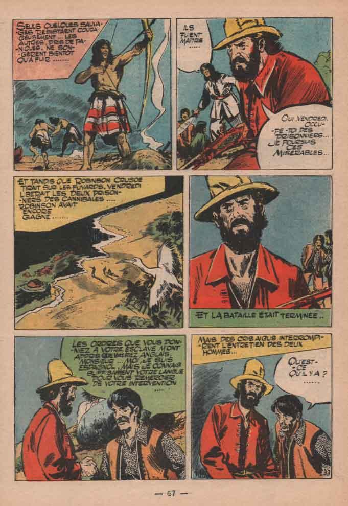 « Robinson Crusoe » Jeunesse joyeuse spécial (10/1961).