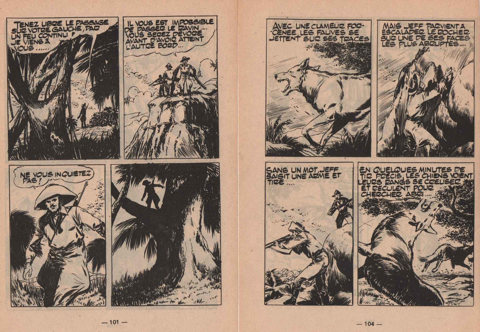 « Le Trésor du Pérou » Typhon n° 16 (11/1966).