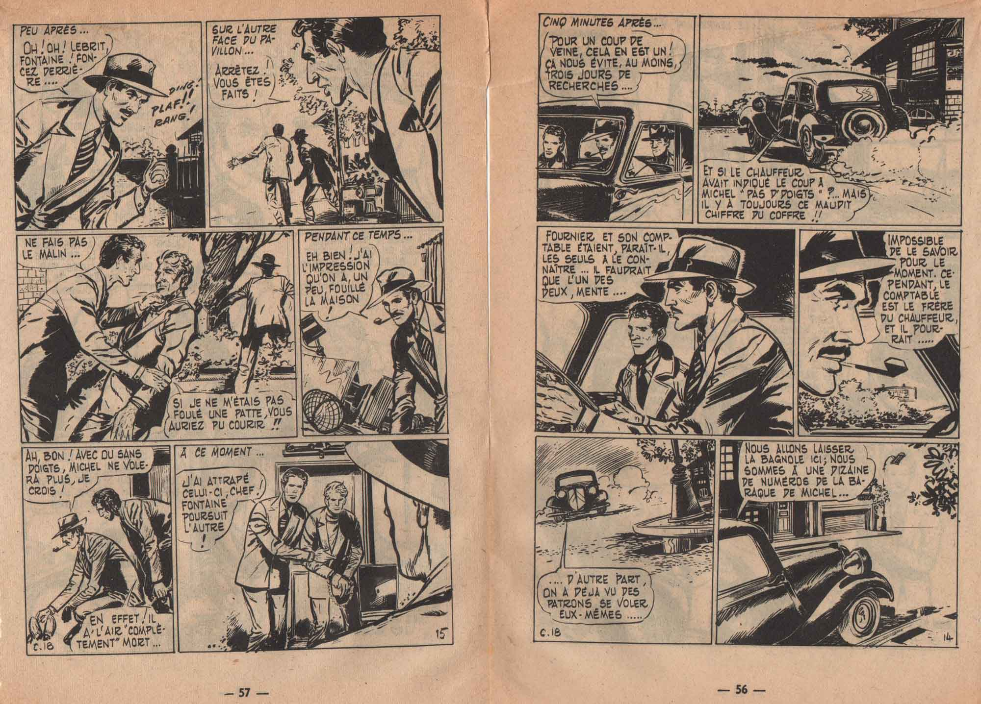 « Inspecteur Hardy » Cap 7 n° 18 (06/1960).