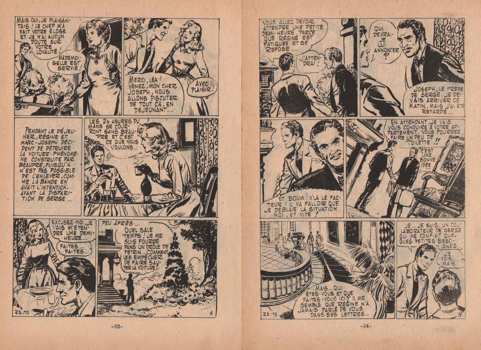 « Quel sale temps ! » Zorro spécial n° 10 (09/1960).