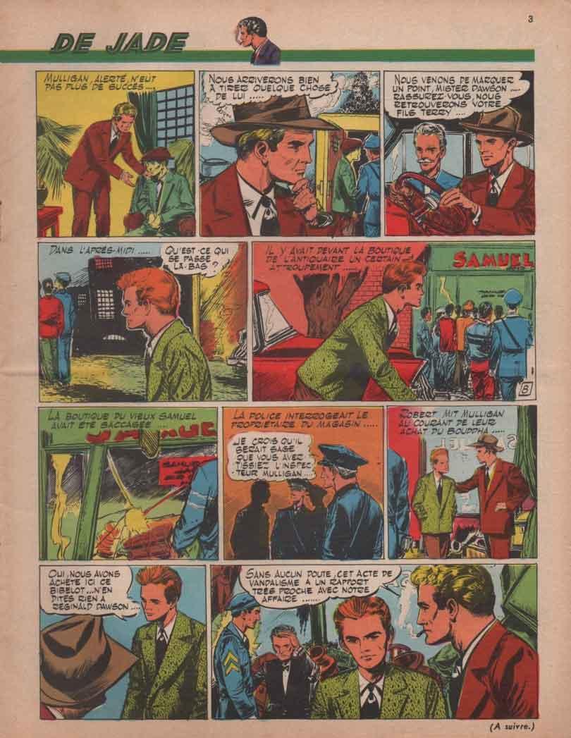 « Le Bouddha de jade » Ima n° 93 (12/1957).