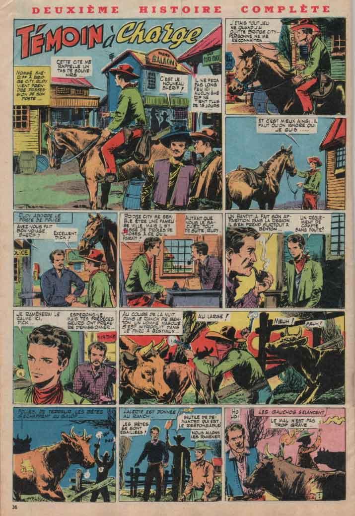 « Témoin à charge » Hurrah ! n° 193 (29/06/1957).