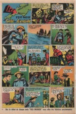 « Ici s'est passé… » Hurrah ! n° 231 (21/03/1958).