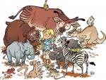 Le Zoo des animaux disparus 4e de couverture