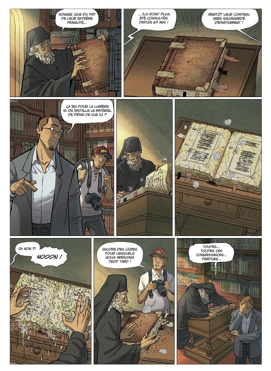 Les Omniscients T1 page 4