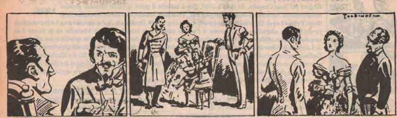 « L'Homme à l'oreille cassée » dans Le Provençal, vers 1950.