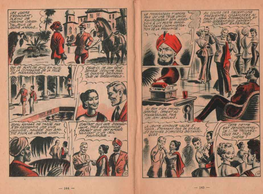« Trahison » dans Arc en ciel n° 14 (08/1958).