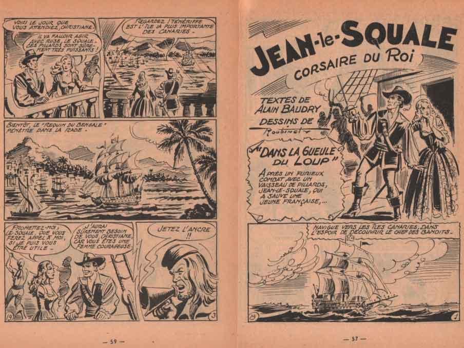 « Jean le Squale » dans Dennis n° 19 (06/1958).