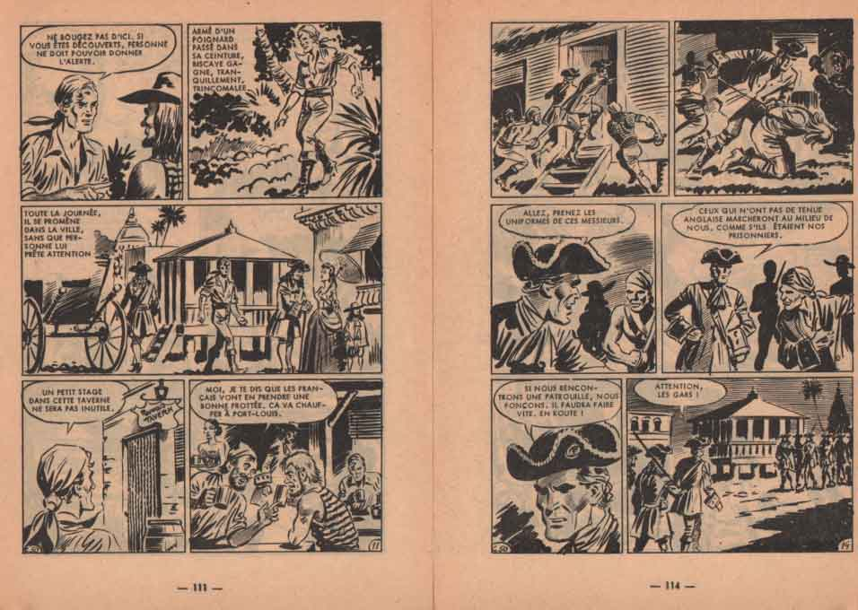« Le Chevalier Biscaye » dans Cap 7 n° 50 (03/1963).