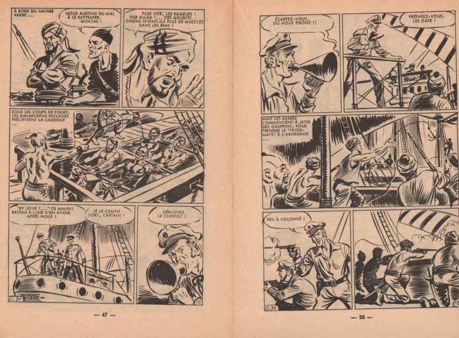 « Captain Jones » dans Cap 7 n° 71 (12/1964).