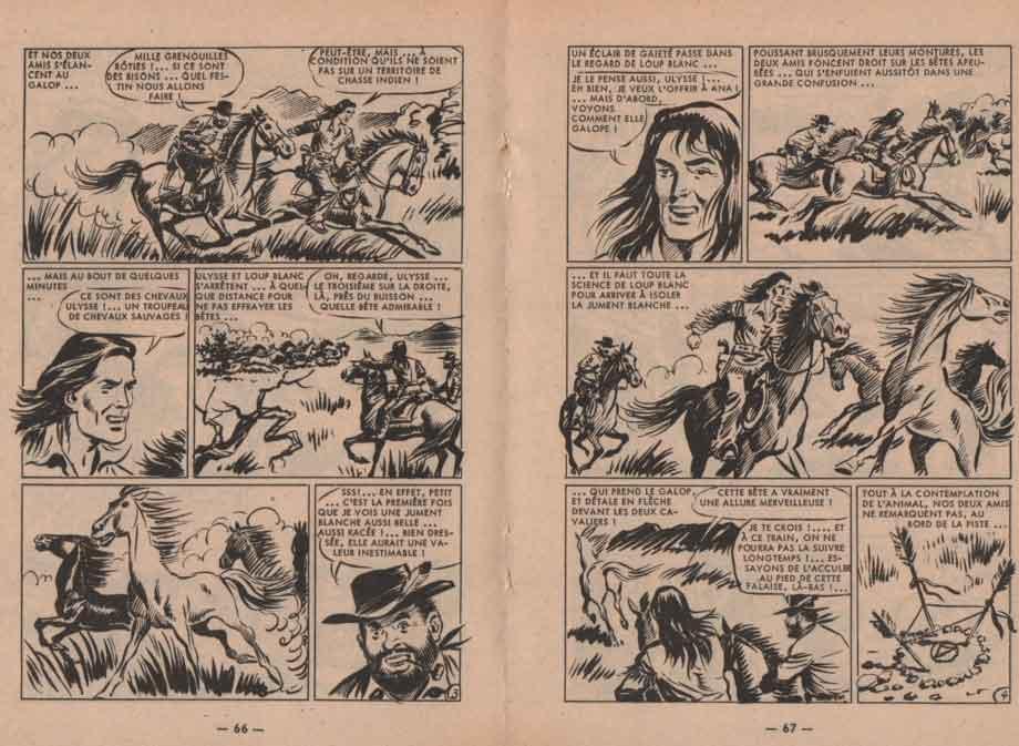 « Loup blanc » dans Olac n° 53 (06/1965).