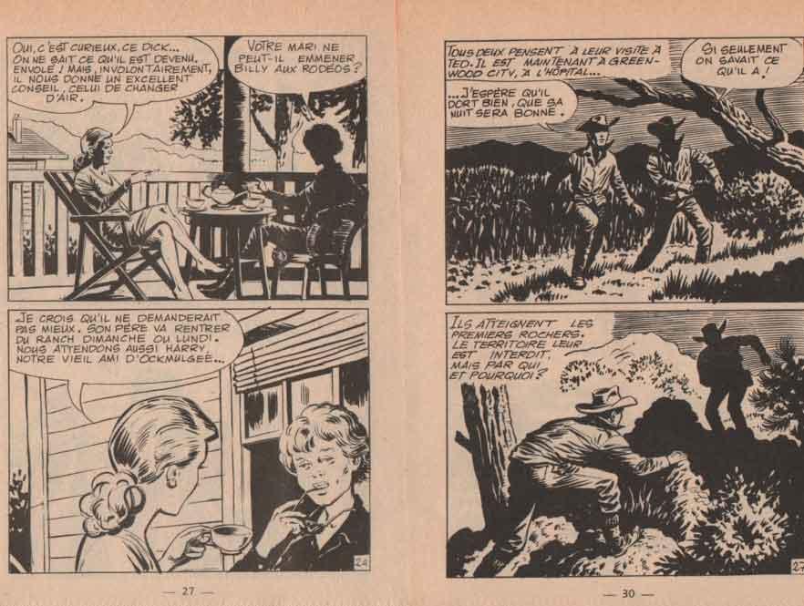 « Billy de West Hill » dans Signe de Piste n° 16 (04/1971).