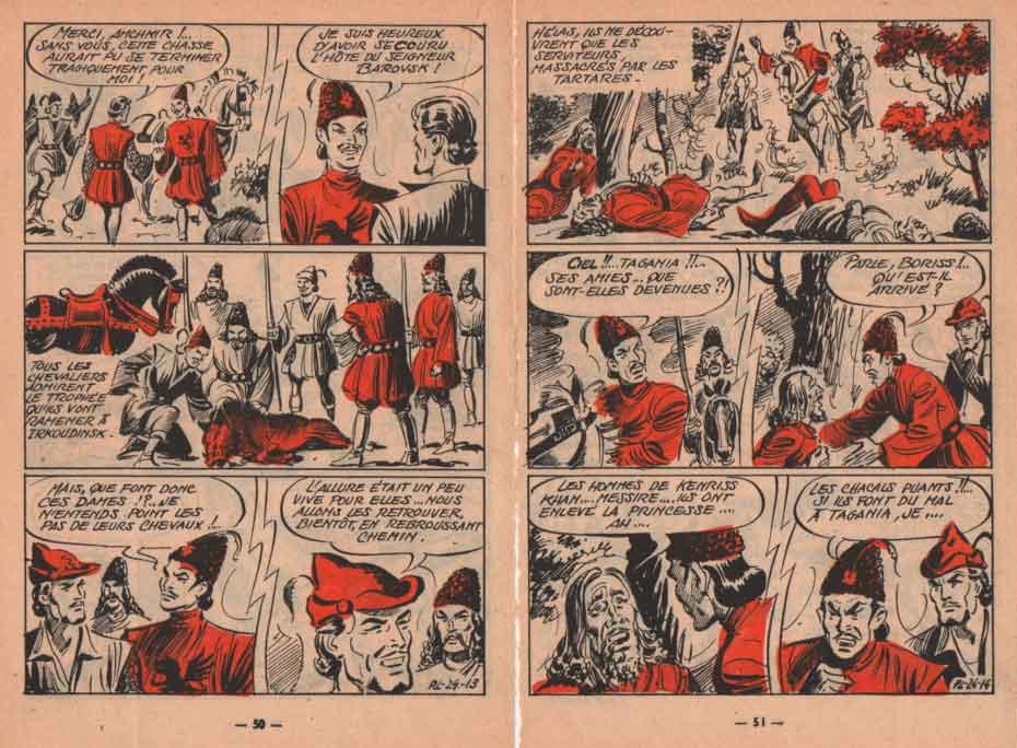 « Prince loyal » dans Bimbo n° 3 (05/1956).