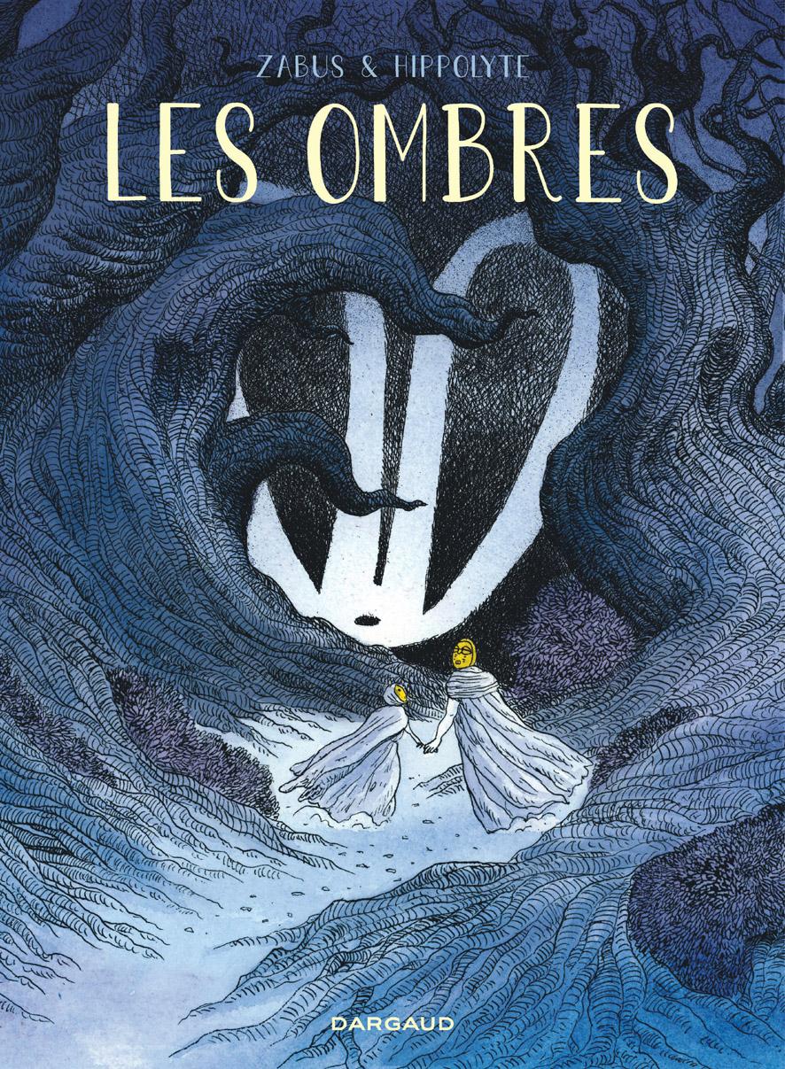 """Une nouvelle couverture pour """"Les Ombres"""", album évoquant l'exil, paru en 2013 (Phébus)."""