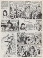 La dernière page du « Transperceneige » dessinée par Alexis.