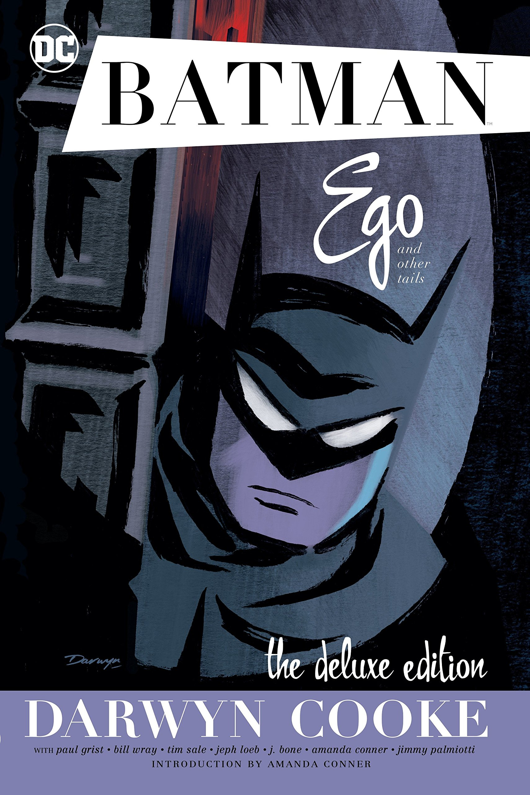 Deux livres pour redécouvrir Darwyn Cooke : « Batman : Ego & Other Tails » (DC Comics, 2017) et « Graphic Ink : The DC Comics Art of Darwyn Cooke » (DC Comics, 2015).