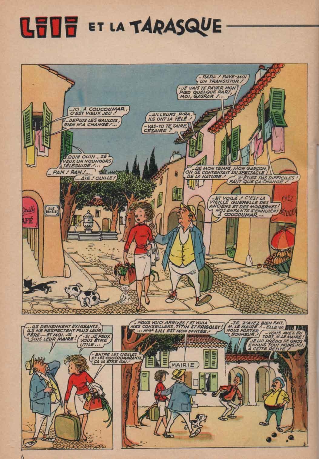 «Lili et la tarasque»15Ans n°1 (10/1965).