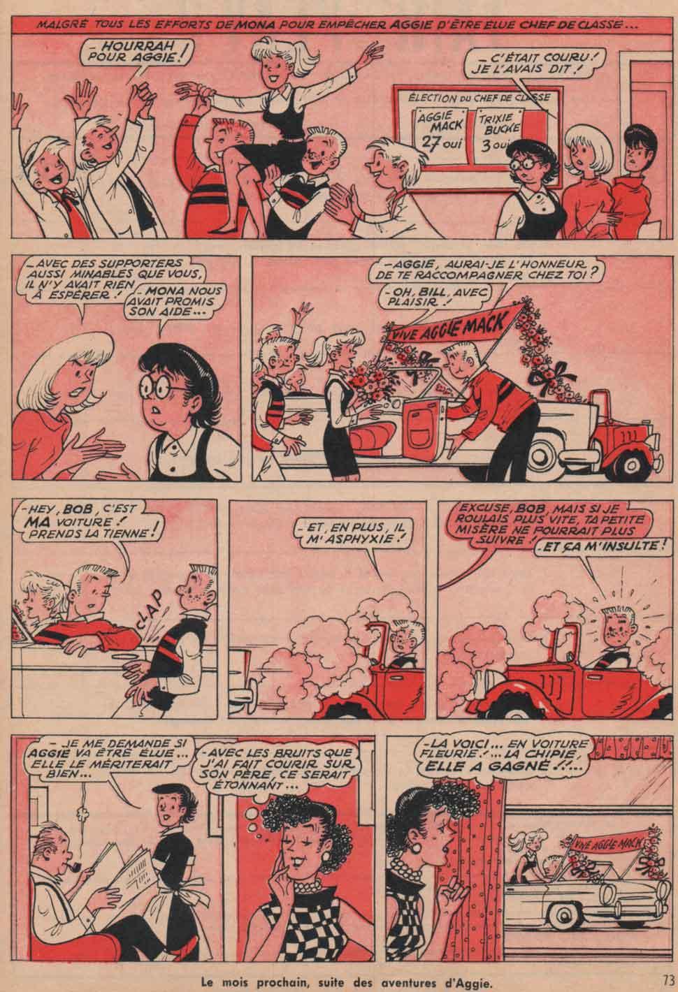 «Pauvre Aggie»15Ans n°15 (12/1966).