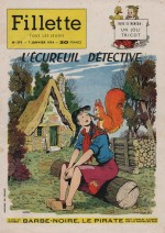 Couverture signée Luco Fillette n° 390 (07/01/1954).