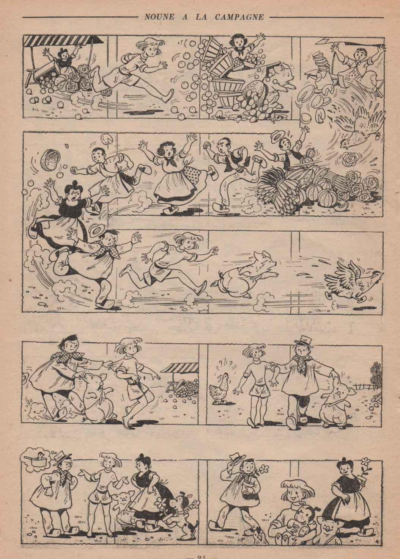 « Noune » Fillette vacances (1954).