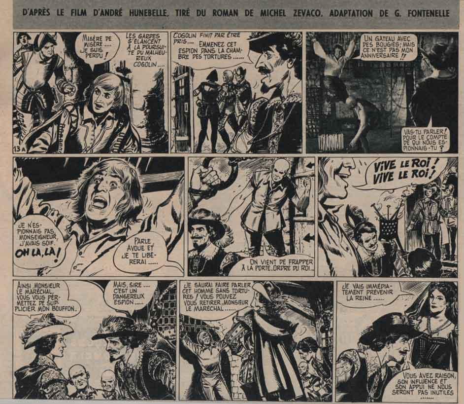 « Le Capitan » Pilote n° 47 (15/09/1960).