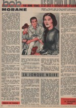 Illustration « Bob Morane » Pilote n° 170 (24/01/1963).