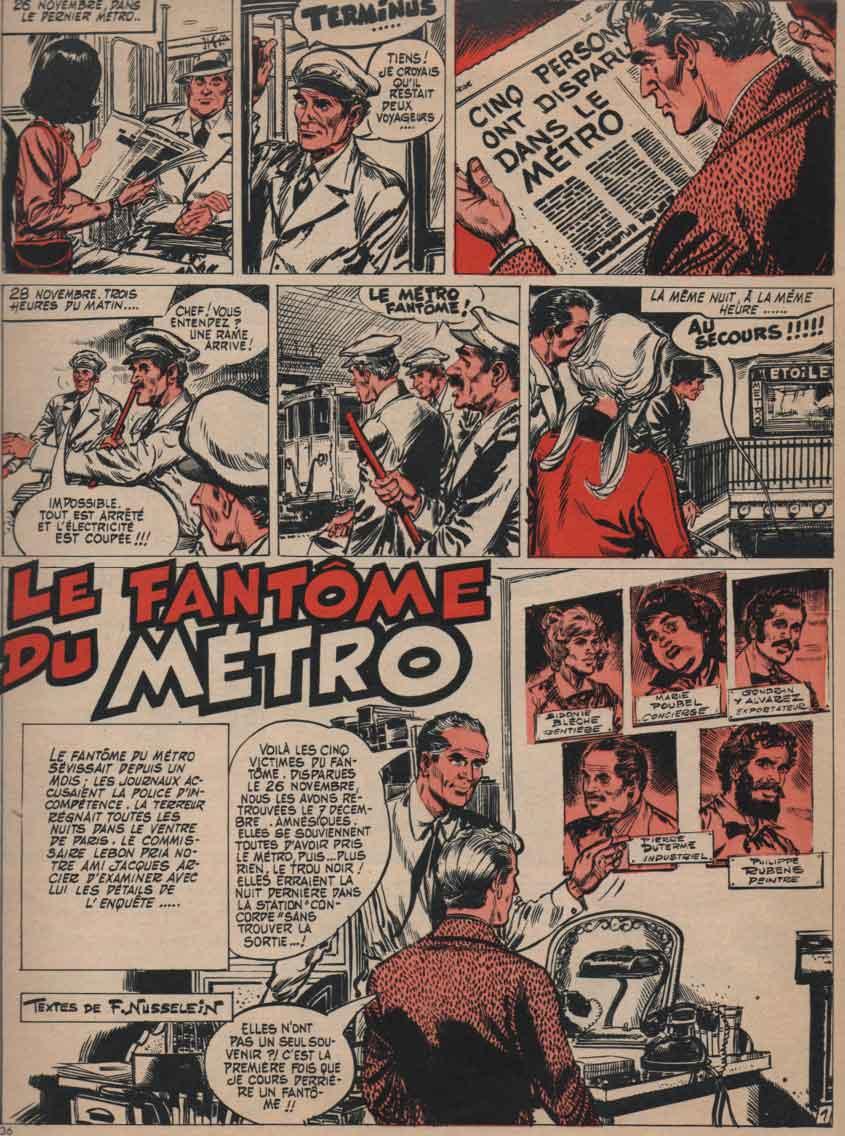 « Jacques Arcier » Pilote n° 377 (12/01/1967).