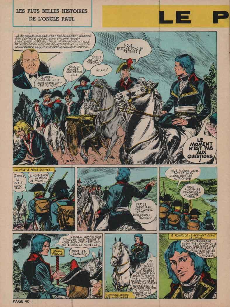 « Le Pont d'Arcole » Spirou n° 1438 (04/11/1965).