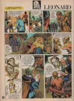 « Léonard de Vinci » Spirou n° 1738 (05/08/1971).