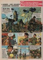 « L'Armée » Spirou n° 1876 (28/03/1974).