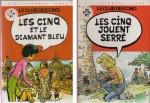 « Le Club des cinq » : couvertures chez Hachette (1979-1980).