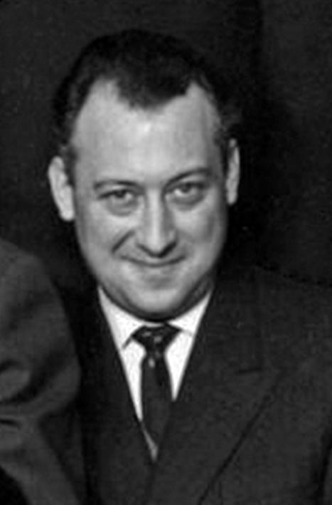 Une autre photo de Claude Pascal communiquée par Jean-Yves Brouard : il est plus âgé,  car elle date du premier semestre 1964.