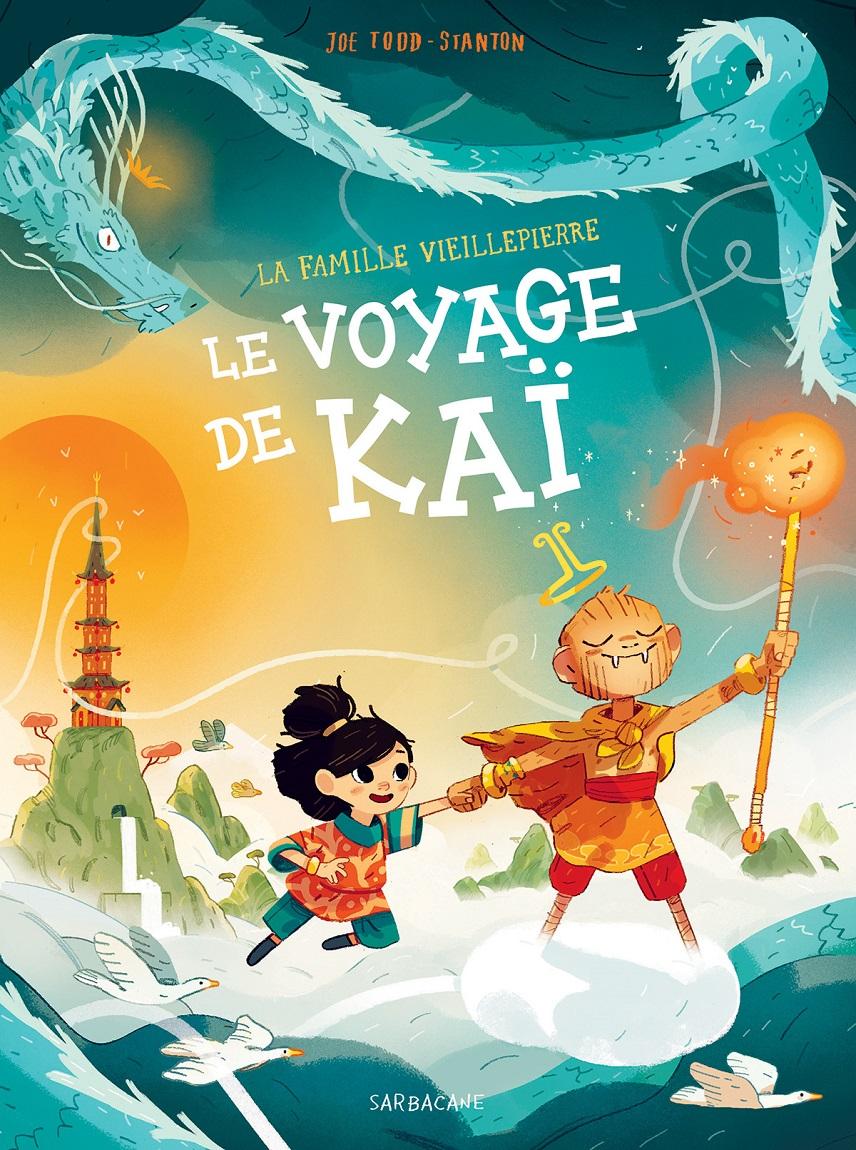 Couverture le voyage de kai