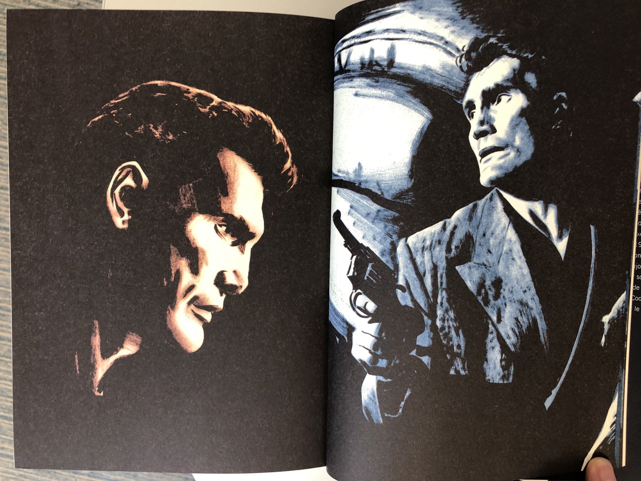 Jack Palance (1919 - 2006), le meilleur physique pour Parker selon son auteur !