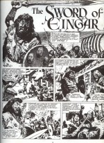 Extrait de «L'Épée d'Ingar le cruel» (album Michel Deligne n° 1, publié en 1979).
