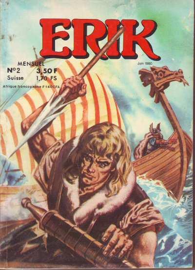 Couverture du poche n° 2  paru à la M.C.L. en juin 1980.