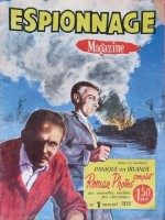 Espionnage Magazine - N° 1 - 1959