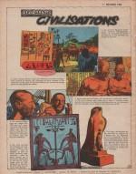 « Les Grandes Civilisations » Pistolin n° 69 (12/1957).
