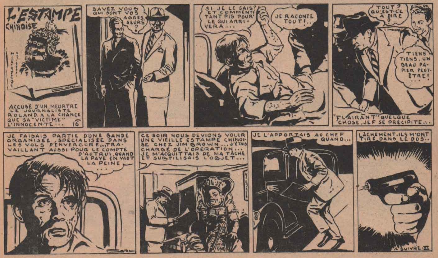 « L'Estampe chinoise » O.K n° 96 (22/04/1948).