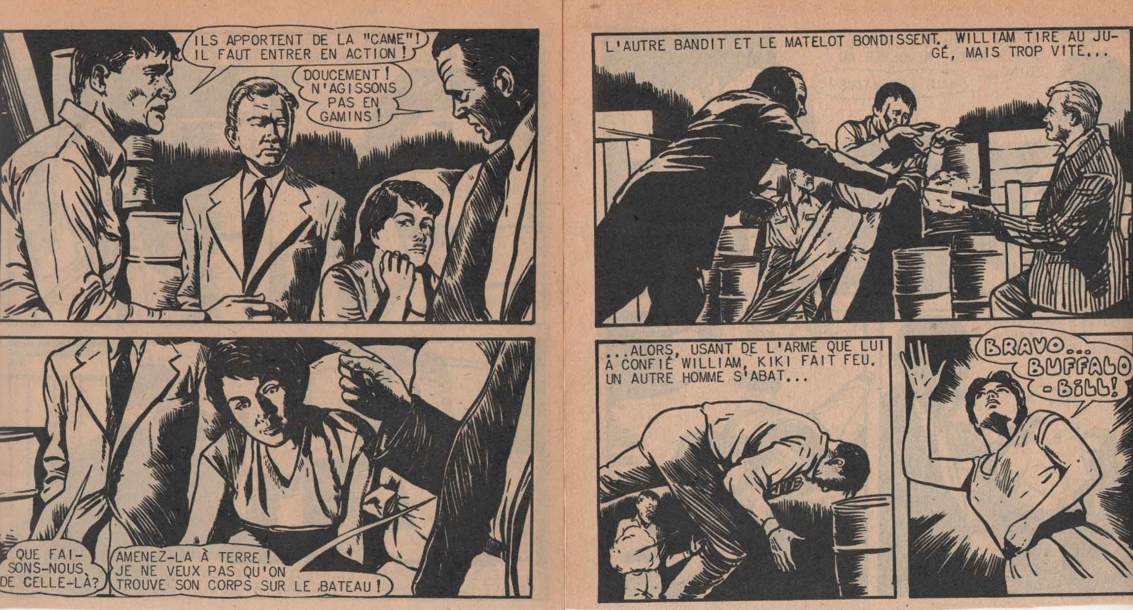 « Kiki Sprint » Kiki Sprint n° 6 (07/1959).