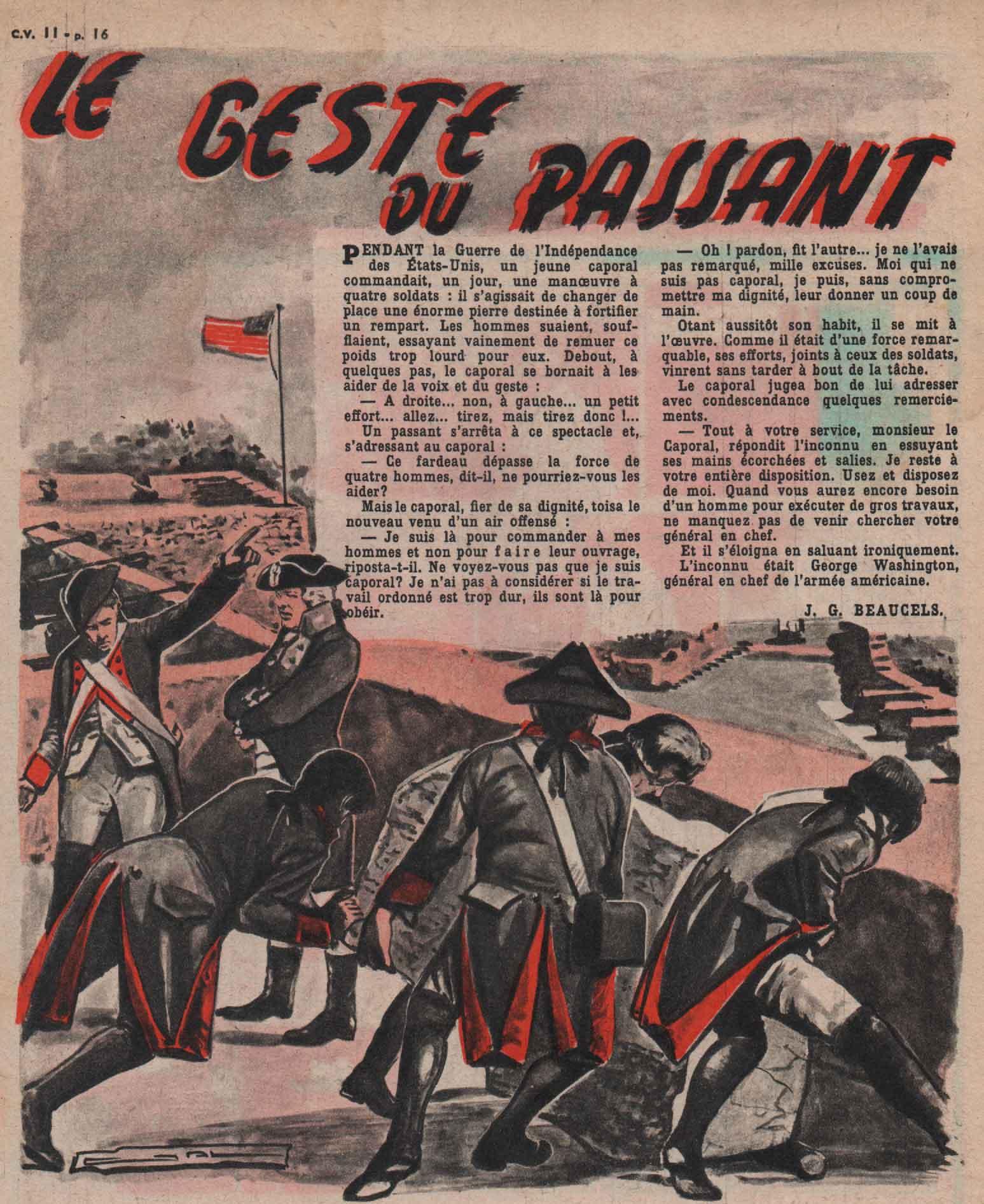 Illustration Cœurs vaillants n° 11 (15/03/1959).