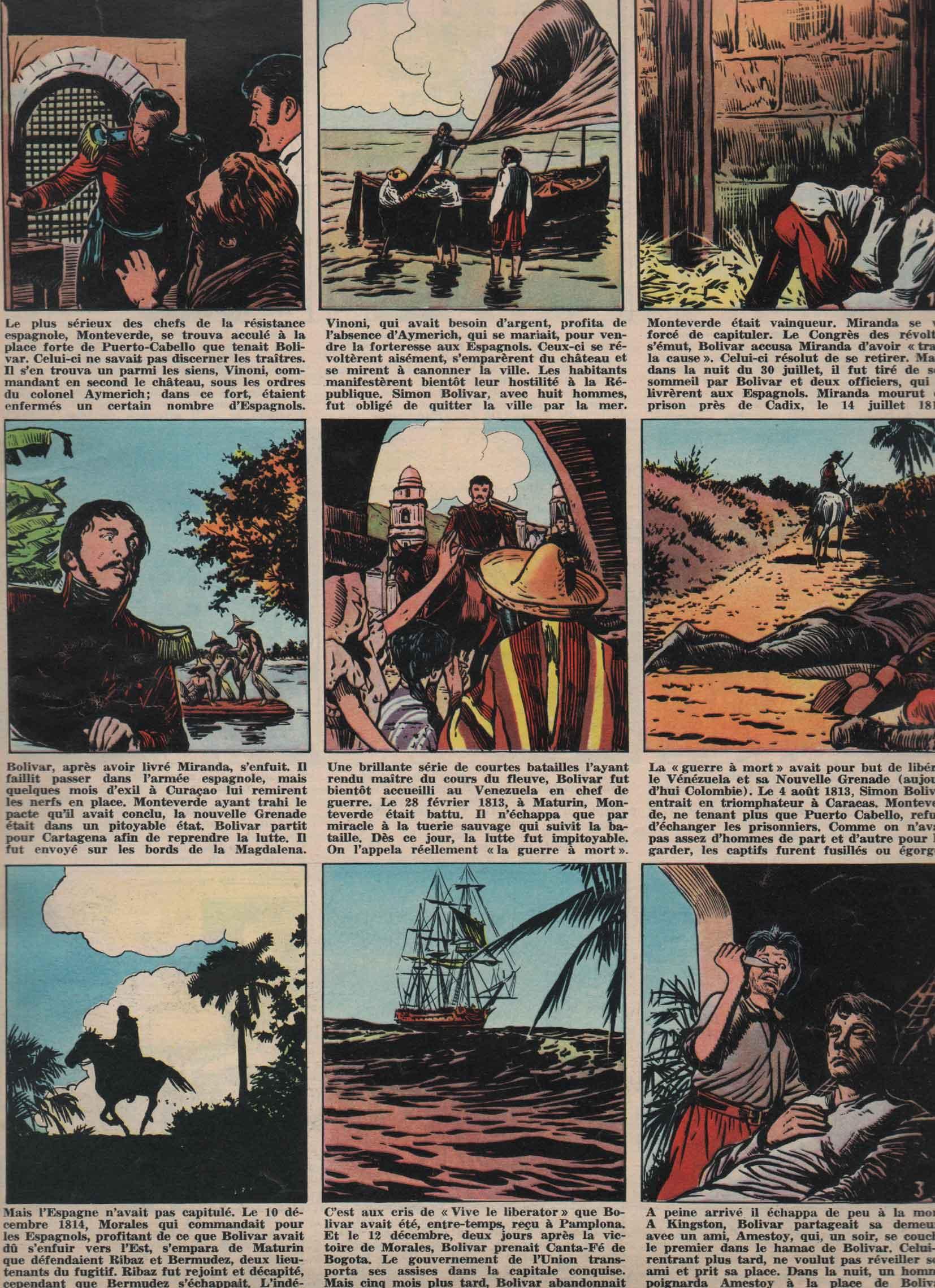 «Simon Bolivar» Pilote n° 159 (8/11/1962).
